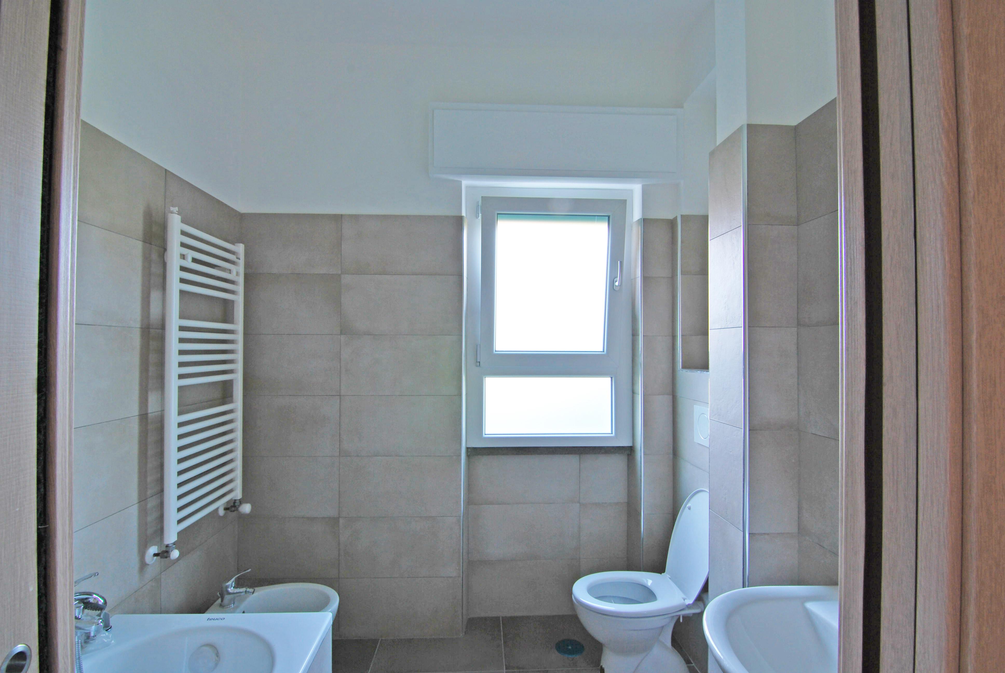 Immagine del cantiere - il secondo bagno ampliato